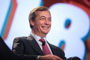 Nigel Farage z Brexit Party