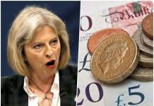 Theresa may funt szterling GBP