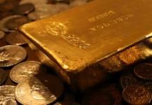 Cena złota gold
