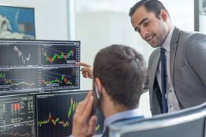 Prawie 25 proc. traderów zarabiało w okresie ostatnich zawirowań rynkowych