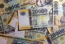 HUF banknoty
