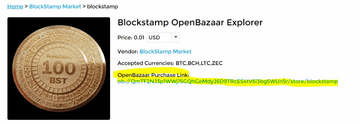 open bazaar blockstamp