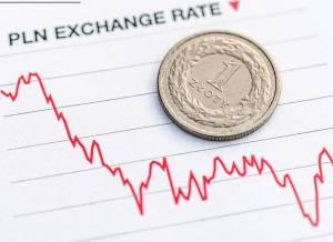Złoty w górę od 7 dni: Kurs euro, dolar, frank i funt w dół, 9 listopada 2020 r.