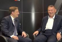 Zbigniew Wieczorek podczas wywiadu z Krzysztofem Kamińskim