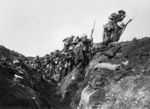 I wojna światowa bitwa