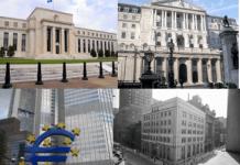 banki centralne, fed, ebc, boe cc