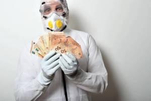 Kurs euro (EUR/USD) wraca do wzrostów. Ile czasu zajmie powrót do wzrostu PKB sprzed pandemii koronawirusa?