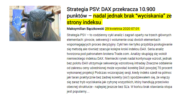DAX opis 01.05.2020