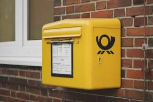 skrzynka na listy Deutsche Post DHL