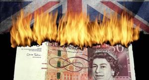 Kurs funta (GBP/USD) spadnie poniżej 1,21 przez presję Brexitu i słabość gospodarki