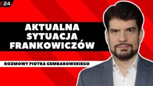 Kurs franka i złotego (CHF/PLN) osiem miesięcy po wyroku TSUE ws. frankowiczów