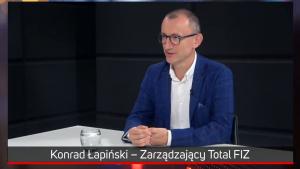 Trzymaj i akumuluj wybrane spółki, uważa Konrad Łapiński z Total FIZ