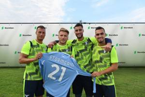 Klub piłkarski SS Lazio podpisał umowę sponsorską z platformą kryptowalutową StormGain