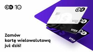 Prawdziwa karta wielowalutowa już dostępna w Cinkciarz.pl