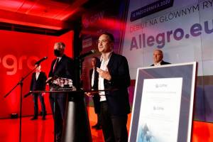 Allegro: Za spektakularnym debiutem stali inwestorzy zagraniczni, donosi Parkiet
