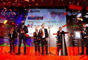 Akcje Allegro drożeją o 51% w pierwszym dniu historycznego IPO