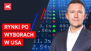 S&P 500 futures już po 3550 pkt., po wyborach w USA. Komentuje P. Kwiecień