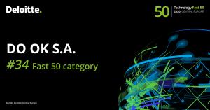 DO OK S.A. laureatem rankingu Deloitte Technology Fast 50 Central Europe 2020
