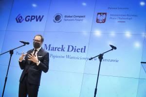 GPW w czołówce giełd w Europie. Komentuje Marek Dietl, prezes warszawskiego parkietu