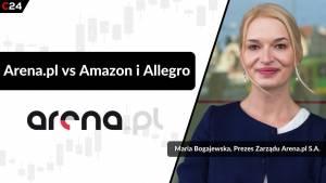 Arena.pl nie obawia się konkurencji ze strony Amazona i planuje dalszy rozwój – rozmowa z Marią Bogajewską