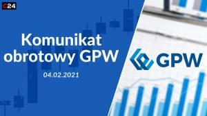 CD Projekt odpowiadał za 30% obrotów GPW w styczniu. Coraz więcej inwestorów indywidualnych