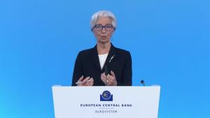 EBC wyciąga wnioskiz przeszłości, powiedziała Christine Lagarde