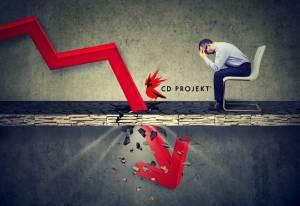 CD Projekt znów pod kreską! Na początku notowań spółka traci aż 2,75%
