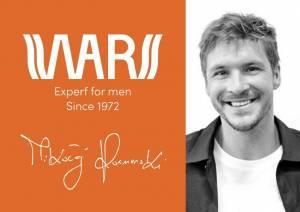 Miraculum: Mikołaj Roznerski twarzą marki WARS