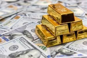 Notowania kontraktów na złoto utrzymują się w pobliżu poziomu 1800 USD za uncję