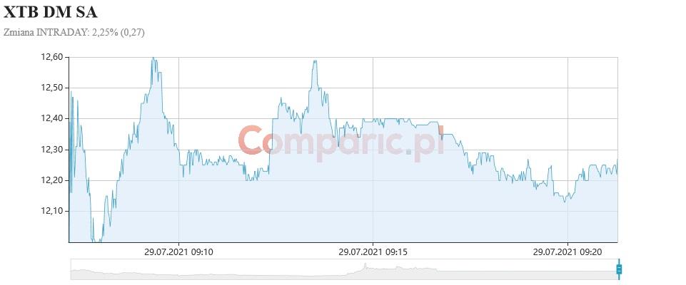 XTB spada o ponad 26%! Wyniki finansowe pogrążyły kurs spółki!