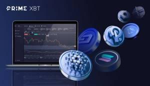 PrimeXBT rozszerza ofertę aktywów cyfrowych o Solanę, Cardano, Polkadot i inne