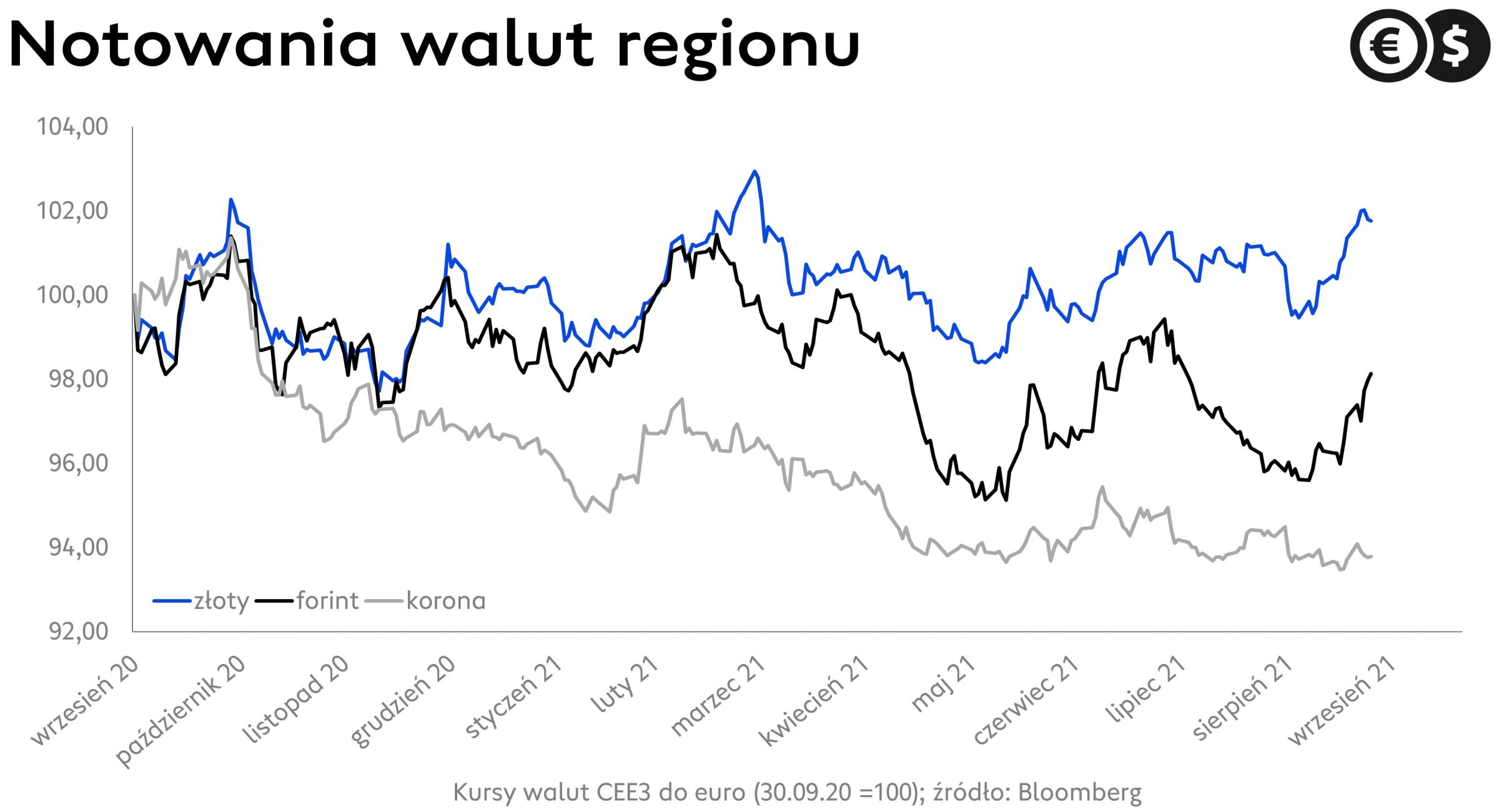 Kurs EUR/PLN po dziesięciu dniach przestał rosnąć. Funt zyskuje na szerokim rynku