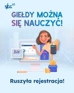 GPW: ruszyła XX edycja Szkolnej Internetowej Gry Giełdowej