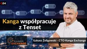 Token KNG na Tenset Gems Launch Platform. Łukasz Żeligowski, CTO Kanga Exchange