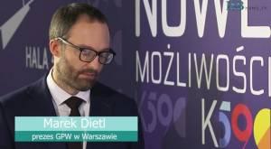 Dietl z GPW: nowy produkt inwestycyjny wspólnie z KGHM czeka na regulacje unijne