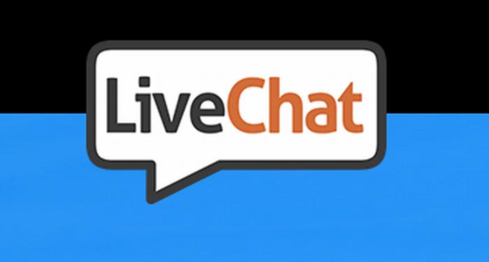 Logo polskiej spółki LiveChat Software